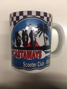 The Castaways Scooter Club Mug